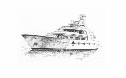 Малюємо покроково кораблі