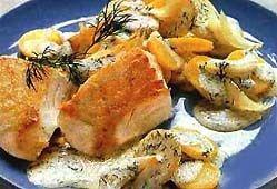 Риба, запечена в духовці.
