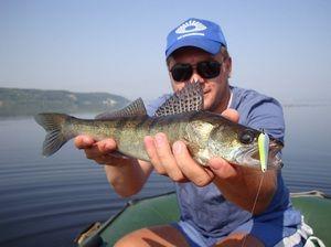 Риболовля влітку. Судак - ловля на блешню