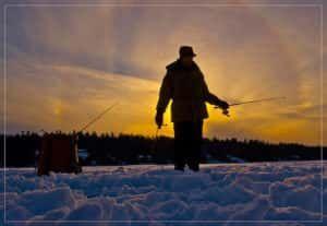 Риболовля в січні