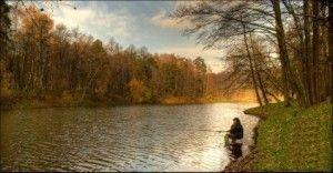 Риболовля в листопаді