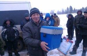 Рибальські змагання пройшли в удмуртії