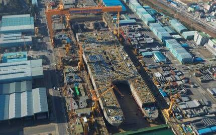 Найбільший корабель в світі побудований