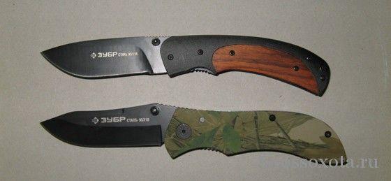 Складено мисливські ножі