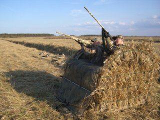 Скрадки і засидження для полювання - успішна маскування - запорука успіху!