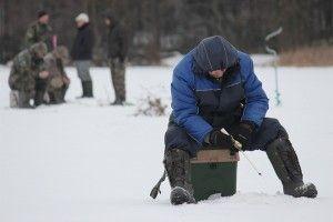 Змагання з ловлі на мормишку пройшли в дрібінского районі
