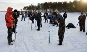 Змагання з лову риби з льоду пройшли в акмолинської області