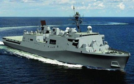 Сша розробляє новий проект десантного корабля