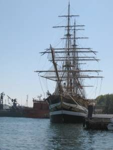 Найстаріший вітрильний корабель вмс італії «amerigo vespucci» відвідав севастополь