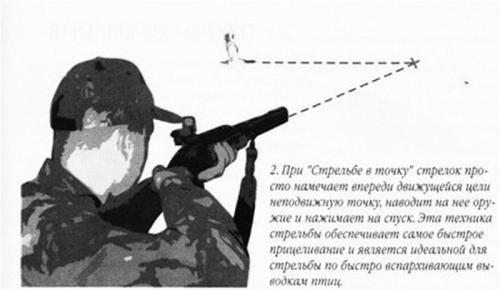 Стрілянина по птаху - як гарантовано потрапляти в летить і сидить мета
