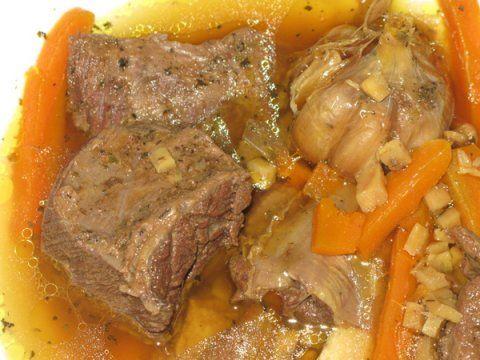 Суп «ледачий» з м`яса кабана / лося