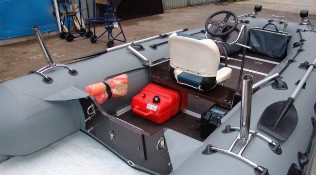 Тюнінг човна з ПВХ