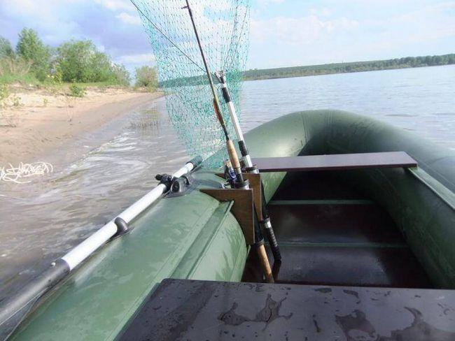 тюнінг човна пвх для риболовлі своїми руками