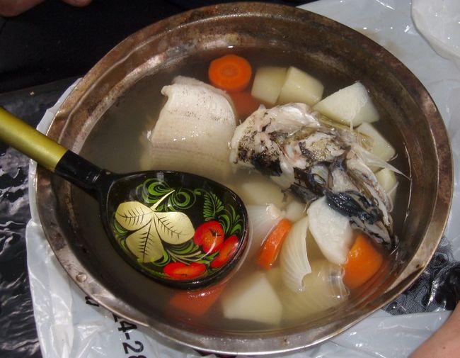 вуха, рецепти, рибні страви