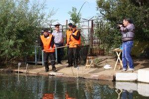 У ісправільной колонії №3 пройшли змагання з поплавковою ловлі