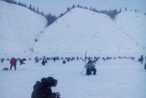 У якутську пройшли змагання з підльодного лову риби