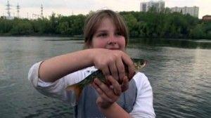 У мар`їно пройшли дитячі змагання з ловлі риби поплавковою вудкою