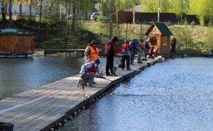 У раменському районі пройшли змагання рибалок з ловлі форелі