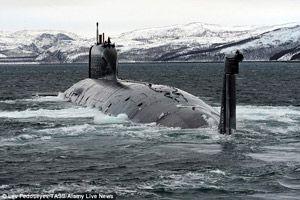 У мережі шотландського моряка догодила російський підводний човен