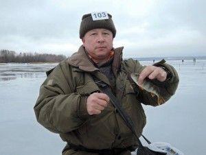 У старому осколі пройшли змагання з зимової риболовлі