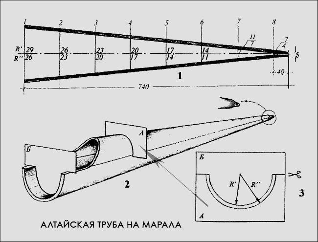 Види манкою і нюанси полювання на марала на реву