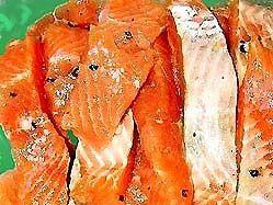 Червона риба сухого засолу