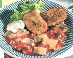 Риба смажена під томатним маринадом