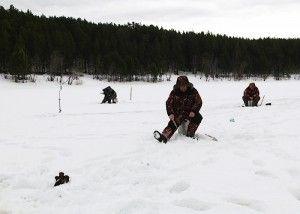 Зимові змагання в ревде з підлідного лову риби