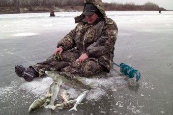 Зимова риболовля з балансиром.
